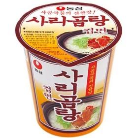 韓サイ韓国食材/韓国ラーメン★濃心 サリコムタン (カップ)麺 61g