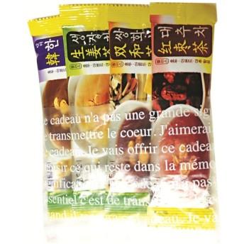 韓国食材韓国お茶★韓国伝統茶 ダムト詰め合わせ 4個入