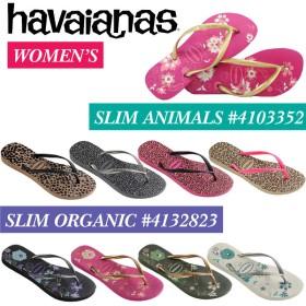 havaianas ハワイアナス SLIM ANIMALS 4103352 ORGANIC 4132823 スリム サンダル ビーチサンダル 草履 男女兼用 レディース 単品購入に限りゆうパケット(メール便発送)
