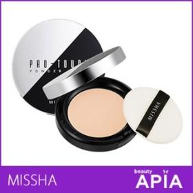 【送料無料・速達】 MISSHA (ミシャ) - ミシャ プロタッチ パウダー ファクト (PRO TOUCH POWDER PACT) SPF25 / PA++ [2タイプ] 韓国コスメ