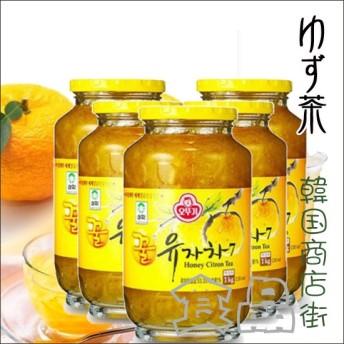 セール![送料無料][オットギ三和]\5個セット/サンファ柚子茶1kg×5個