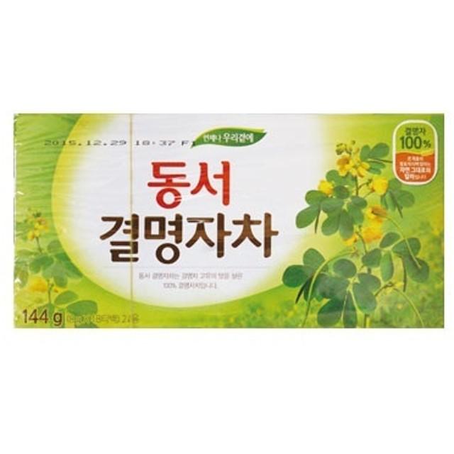 『東西』決明子茶|ケツメイシ(144g・18包 ティーバッグ)|煮出し・水出し両用[ドンソ][キョルミョンジャ茶][韓国お茶][韓国飲料][健康茶]