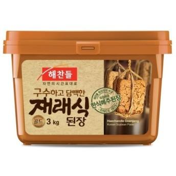 ヘチャンドル(ビビゴ) 味噌 3Kg★韓国食品市場★韓国料理/韓国食材/調味料/韓国ソース/韓国味噌/在来式味噌/テンジャン
