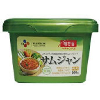 CJbibigo(旧:ヘチャンドル)サムジャン500g■韓国食品■0734【韓国料理/韓国食材/韓国食品】