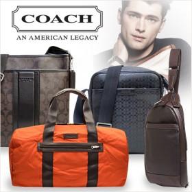 【COACH/コーチ】Qoo10最安値に挑戦中!卸直営価格 メンズバッグ特集 簡易ラッピング可能 アウトレット