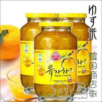 オットギ三和 \3個セット/サンファ 柚子茶 1Kg