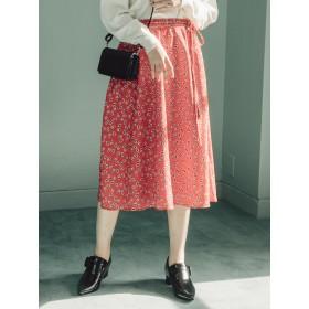 MURUA little flowerフレアスカート