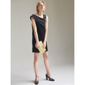 [LAGUNAMOON]LADY アシンメトリーフロッキードレス