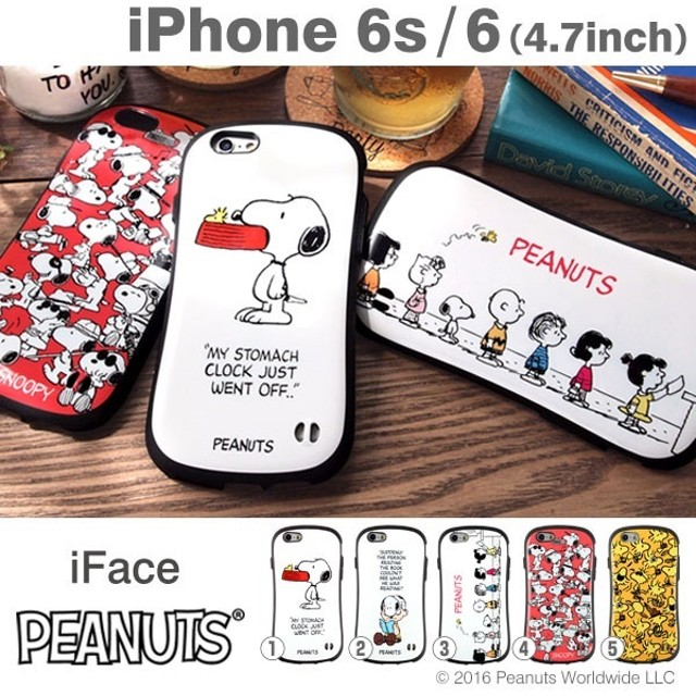 026be56249 iPhone6s/6 PEANUTS/ピーナッツ iface First Classケース 【当店はiFaceメーカー直営