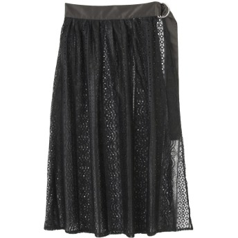 [MURUA]ラップレーススカート