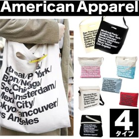 アメリカンアパレル トートバッグ 4種類セール AMERICAN APPAREL アメリカンアパレル ショルダーバッグ トートバッグ クラッチバッグ