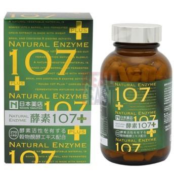 日本薬店 NATURAL ENZYME 酵素107+ 270粒 薬王製薬