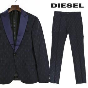 ディーゼルブラックゴールド DIESEL BLACK GOLD スーツ メンズ 和柄風 着物柄風 タキシード ディナースーツ セットアップ ツーピース AISTIKO die-m-u-78-425