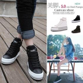 スニーカーレディース 韓国スタイル 韓国ファッション 人気スニーカー ローカット ハイカット カジュアルシューズ 厚底スニーカー フラットシューズ 靴 ヒール 女性靴 ランニング靴 レディース 可愛