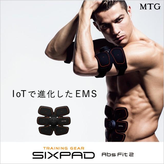 【新発売】シックスパッド アブズフィット2(腹筋用) SIXPAD シックスパッド 正規品 腹筋 EMS ロナウド【メーカー公式】