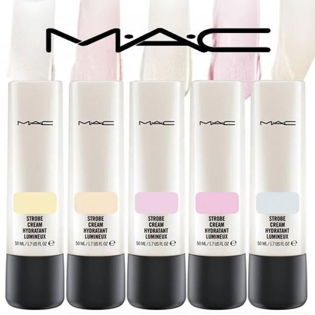 MAC ストロボクリーム50ml Strobe Cream 崩れにくいツヤ肌ベースメイク M・A・C 唇や肌にいきいきとした輝きと明るい透明感を与えるクリーム。
