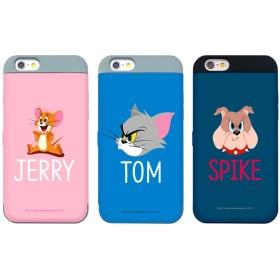 TOM and JERRY トムとジェリー シーズン カード 収納 バンパー ♪Galaxy S8/S8 Plus/S7 Edge/S7/S6 Edge/S6/Note5・4 トム ジェリー