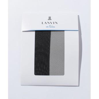 ランバンオンブルー(レディスソックス) 交編パンスト(L-LL) レディース ソワレ L-LL 【LANVIN en Bleu(Ladies Socks)】