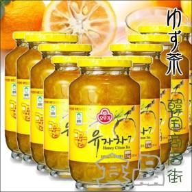 セール![送料無料][オットギ三和]\9個セット/サンファ柚子茶1kg×9個【1BOX】