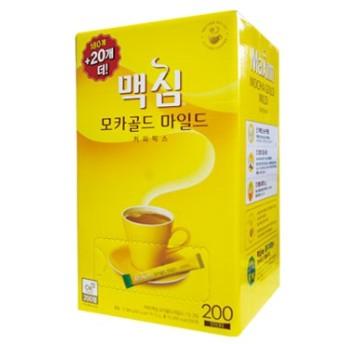 『東西』 Maxim モカゴールド コーヒー ミックス(180包+20包・ 業務用 ) ドンソ マキシム インスタントコーヒー 韓国コーヒー 韓国飲料 韓国飲み物 韓国食品