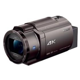 ソニー SONY メモリースティック/SD対応 64GBメモリー内蔵 4Kビデオカメラ FDR-AX45(TI) (ブロンズブラウン)