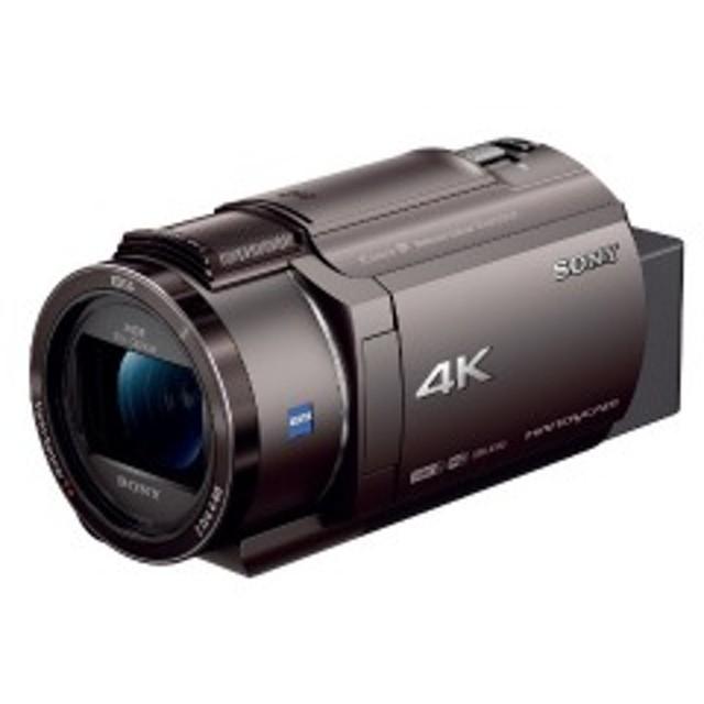 ソニー メモリースティック/SD対応 64GBメモリー内蔵 4Kビデオカメラ FDR-AX45(TI) (ブロンズブラウン)
