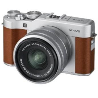 富士フイルム FUJIFILM ミラーレス一眼カメラ (レンズキット) X-A5 ブラウン