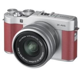 富士フイルム ミラーレス一眼カメラ (レンズキット) X-A5 ピンク