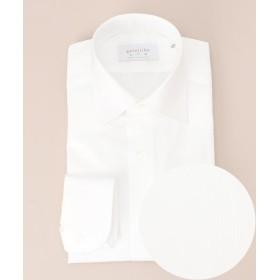 五大陸 SLOWVINTAGE ドレスシャツ セミワイド メンズ ホワイト系1 15H 【gotairiku】