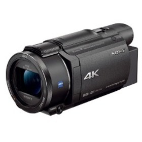 ソニー メモリースティック/SD対応 64GBメモリー内蔵 4Kビデオカメラ FDR-AX60 (ブラック)