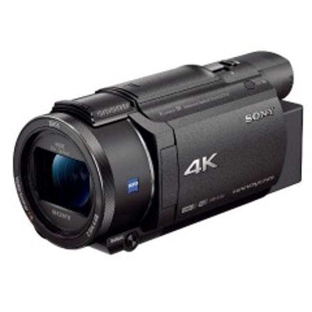 ソニー SONY メモリースティック/SD対応 64GBメモリー内蔵 4Kビデオカメラ FDR-AX60 (ブラック)
