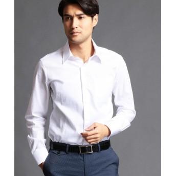 ムッシュニコル セミワイドカラードレスシャツ メンズ 09ホワイト 46(M) 【MONSIEUR NICOLE】