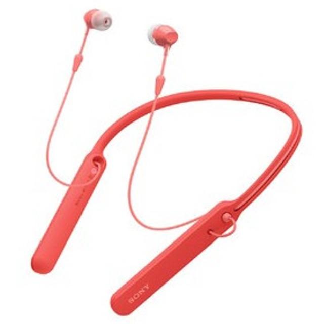 b45181810b55a9 お取り寄せ:納期目安15〜20日位)SONY WIC400R レッド Bluetooth ...
