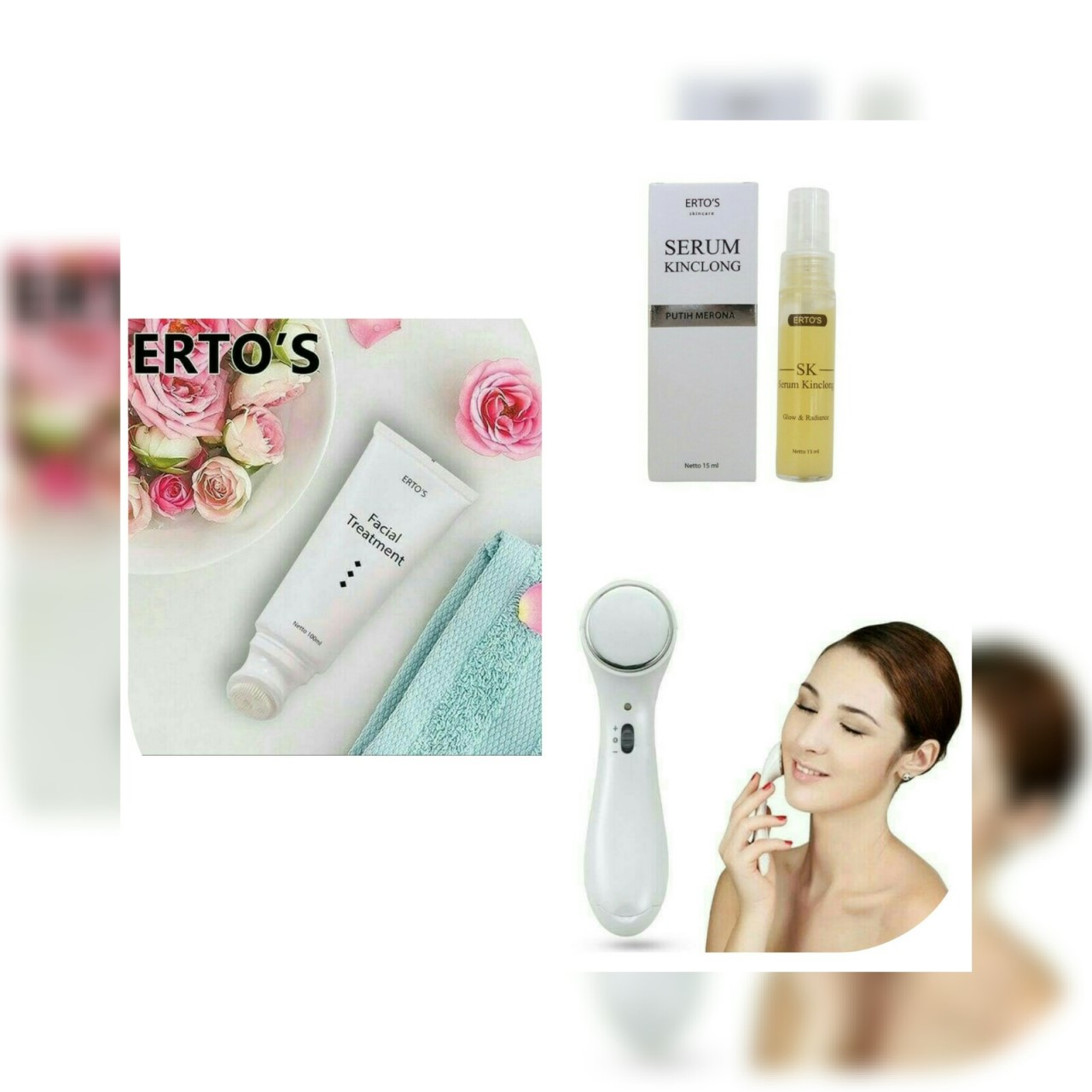 Oisei Store Shop Line Ertos Paket Glowing 1 Kecantikan