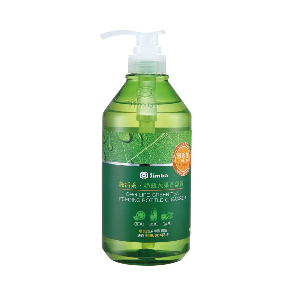 Simba小獅王辛巴 綠活系奶瓶蔬果洗潔液 800ml