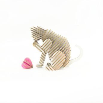 SORRY CATシリーズDIYのギフトボックス白猫の言語