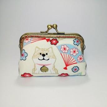 チャイチャイ新年1987 Handmades [ - ]オフホワイト財布の口の金のパッケージクラッチ