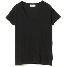 【50%OFF】 ビームス ウィメン Ray BEAMS High Basic / スクープ ネック Tシャツ レディース BLACK 1 【BEAMS WOMEN】 【セール開催中】