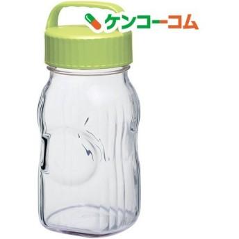漬け上手 フルーツシロップ びん オリーブグリーン 日本製  I-77860-OG-A-JAN-S ( 1コ入 )