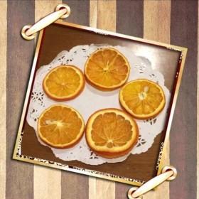 オレンジスライス 5枚