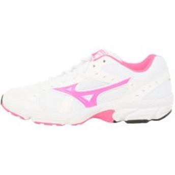 (セール)MIZUNO(ミズノ)ランニング レディースジョギングシューズ TRAD ROAD 9(W)K1GA170755 レディース ホワイトxピンク