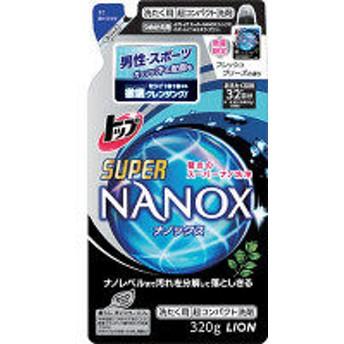 NANOX for MEN フレッシュブリーズの香り 詰め替え 320g 1個 濃縮・コンパクトタイプ ライオン