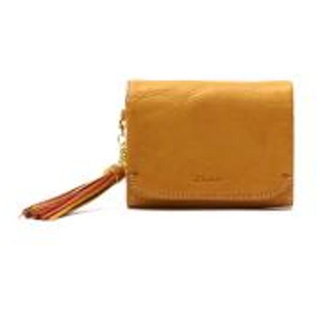 e2cbf4f9229a ダコタ 二つ折り財布 Dakota アプローズ 財布 本革 コンパクト レディース 0035181 マスタード(53)