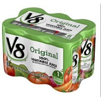 キャンベル V8ベジタブルジュース 163ml×6缶