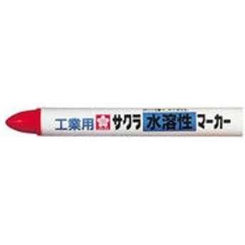 サクラクレパス 水溶性マーカー 赤 WSC#19 5個 (直送品)