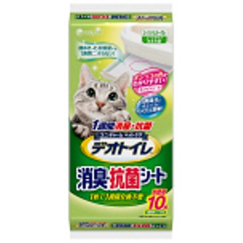 デオトイレ 1週間消臭・抗菌シート 10枚入 1袋 ユニ・チャーム