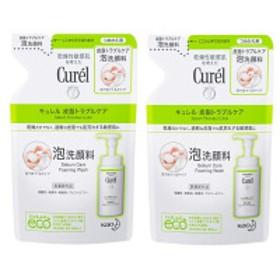 Curel(キュレル) 皮脂トラブルケア泡洗顔 詰め替え 130mL×2個 花王 敏感肌