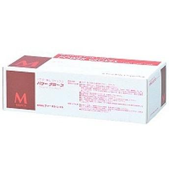 ファーストレイト パワーグローブ パウダーフリー ラテックス Mサイズ FR-962 1箱(100枚入) (使い捨てグローブ)