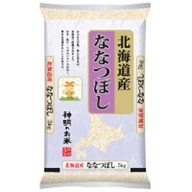【精白米】 北海道産ななつぼし 5kg 平成30年産
