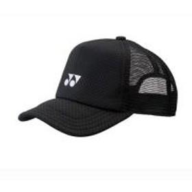 YONEX(ヨネックス)テニス バドミントン アパレルアクセサリー ユニメッシュキャップ 40007 007 BK